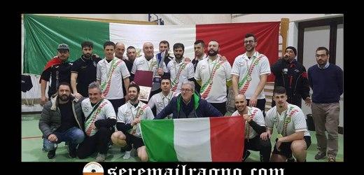 Bellatores campioni d'Italia 2018 di tiro alla fune categoria 640Kg