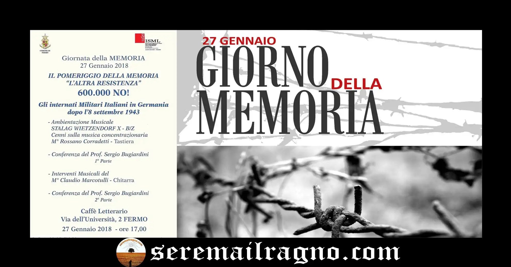 Fermo: Giornata della Memoria 2018