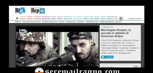 """""""Marchigian Snaiper"""": la parodia di American Sniper compie 3 anni"""