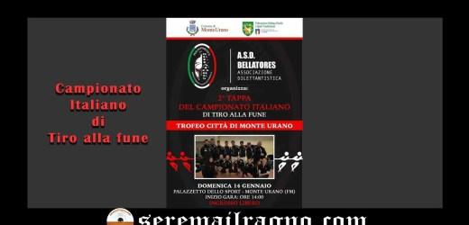 2° Tappa del campionato italiano di tiro alla fune