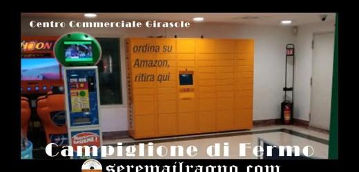 Amazon Locker- Al centro commerciale Girasole di Campiglione di Fermo