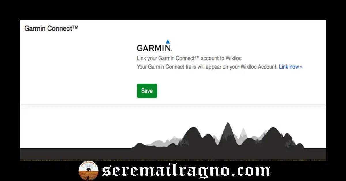 Caricare manualmente o automaticamente i percorsi Garmin su Wikiloc