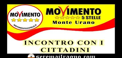 Monte Urano: incontro con i cittadini