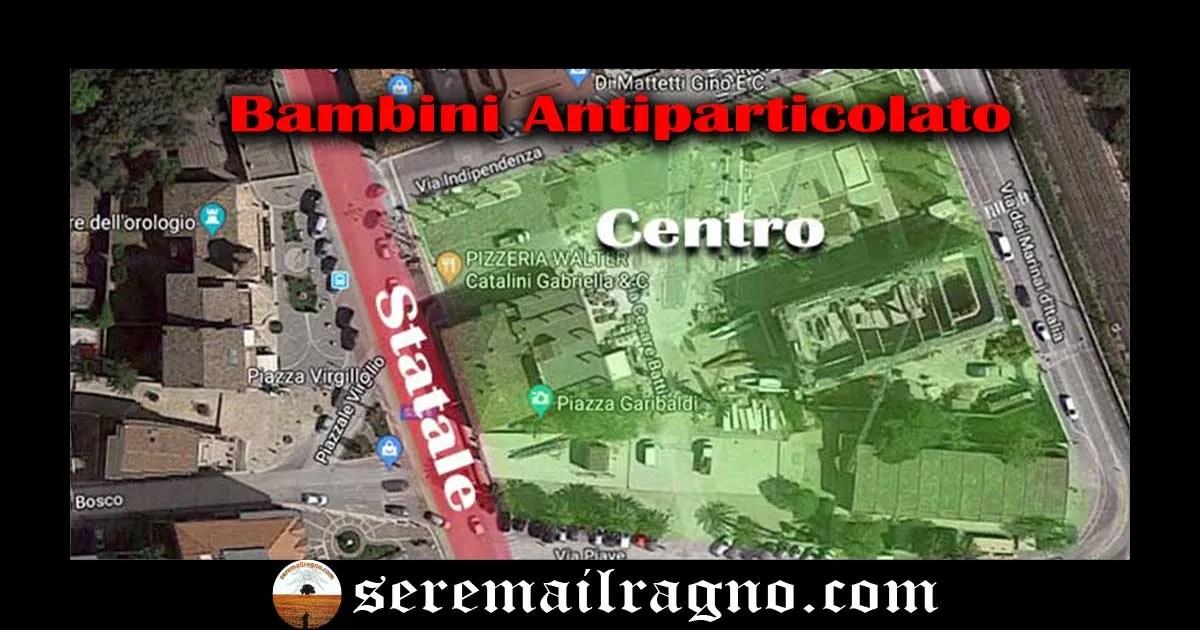 """In nome dei """"Bambini antiparticolato"""" di Porto Sant'Elpidio"""