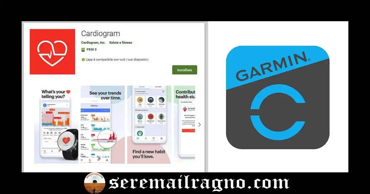 Novità: l'app Cardiogram si integra con i dispositivi indossabili Garmin