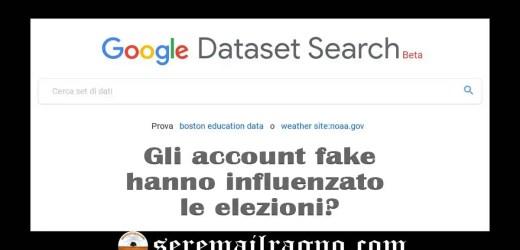 Il nuovo motore di ricerca Google Dataset Search: come scovare account fake