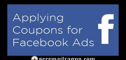 Facebook – Coupon pubblicitario gratuito di 5€