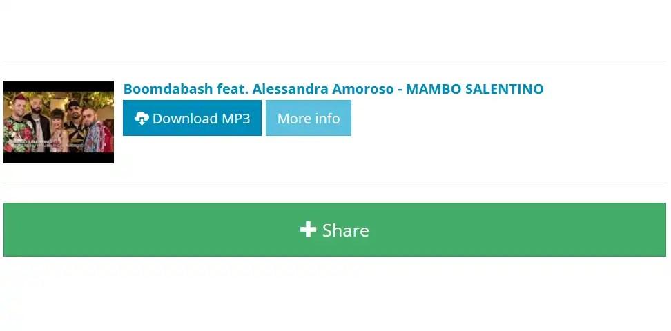 Protetto: Boomdabash – Mambo Salentino ft. Alessandra Amoroso [video+download]