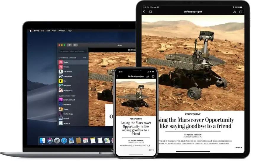 Apple News ancora non attivo in Italia
