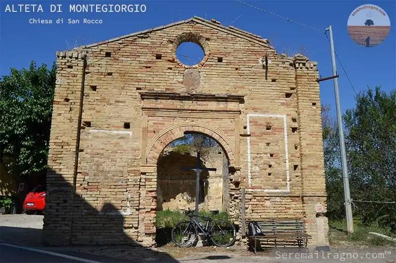 Un giro ad Alteta di Montegiorgio nei ruderi della Chiesa di San Rocco