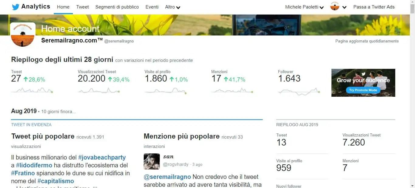 """La """"potenza"""" gratuita di Twitter – Seremailragno.com™"""