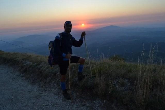 Vista dai Monti Sibillini
