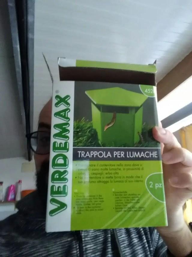 Trappola per lumache Verdemax