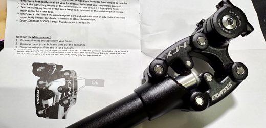 SR Suntour SP12 – Reggisella ammortizzato