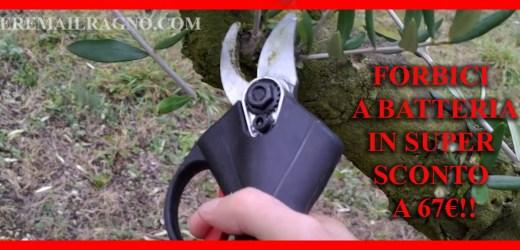 Forbici da potatura a batteria – Pruning scissor