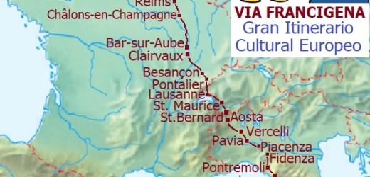 Pietro Franzese ci ringrazia lungo la Via Francigena 🤗