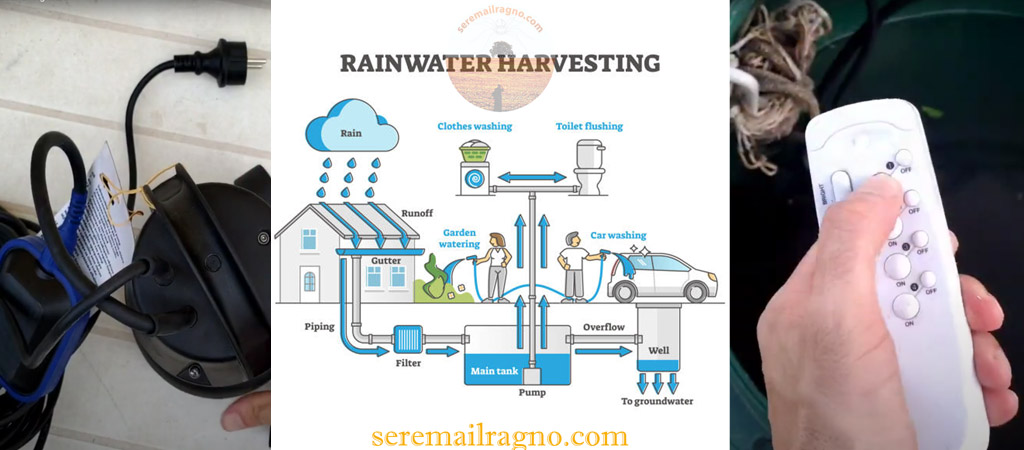 Rainwater Harvesting – Come riutilizzare l'acqua piovana accumulata nei depositi
