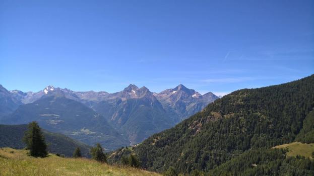 Vista dall'Alpeggio Veplace