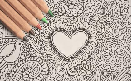 Coloriage anti-stress pour adultes