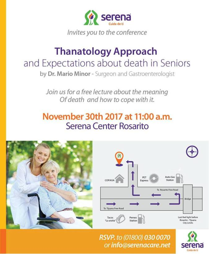 Join us for this free conference by Dr. Mario Minor at Serena