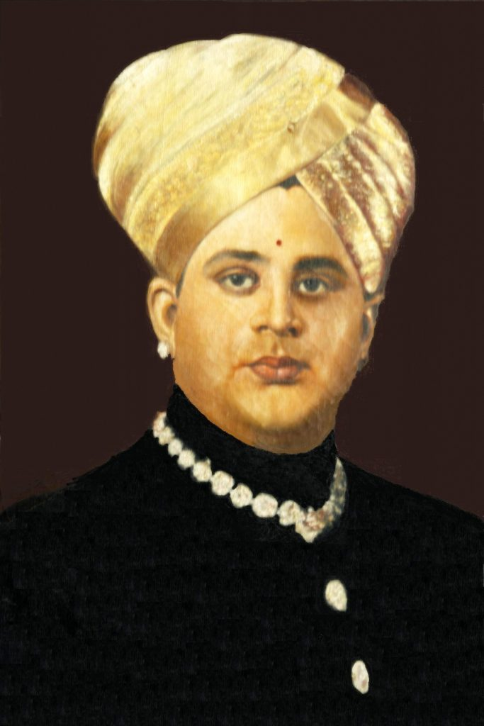 Court portrait of Jayachamarajendra Wadiyar of Mysore | Source: Wikimedia Commons