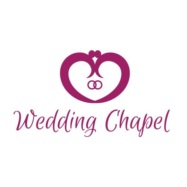 Wedding Chapel Logo Template
