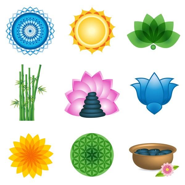 Spa Logo Elements & Icons