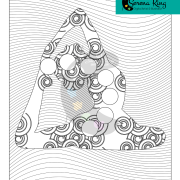 Coloring Page Willow Tree. Yoga Chakra Coloring Page Weeping Willow Tree