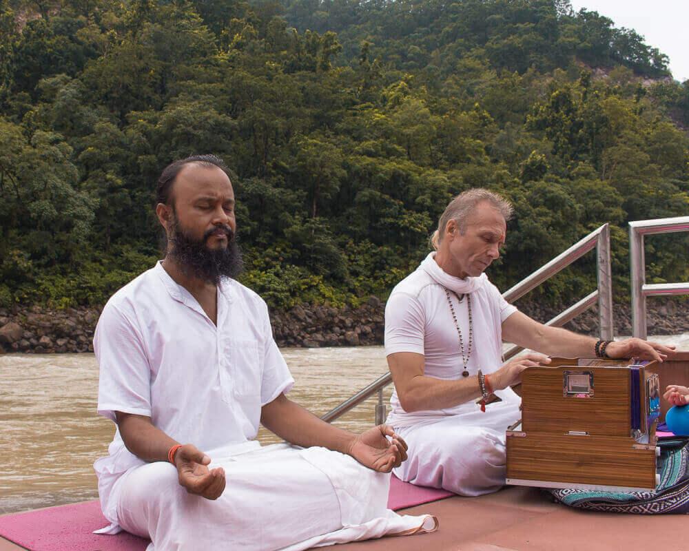 Retiro de yoga en Rishikesh