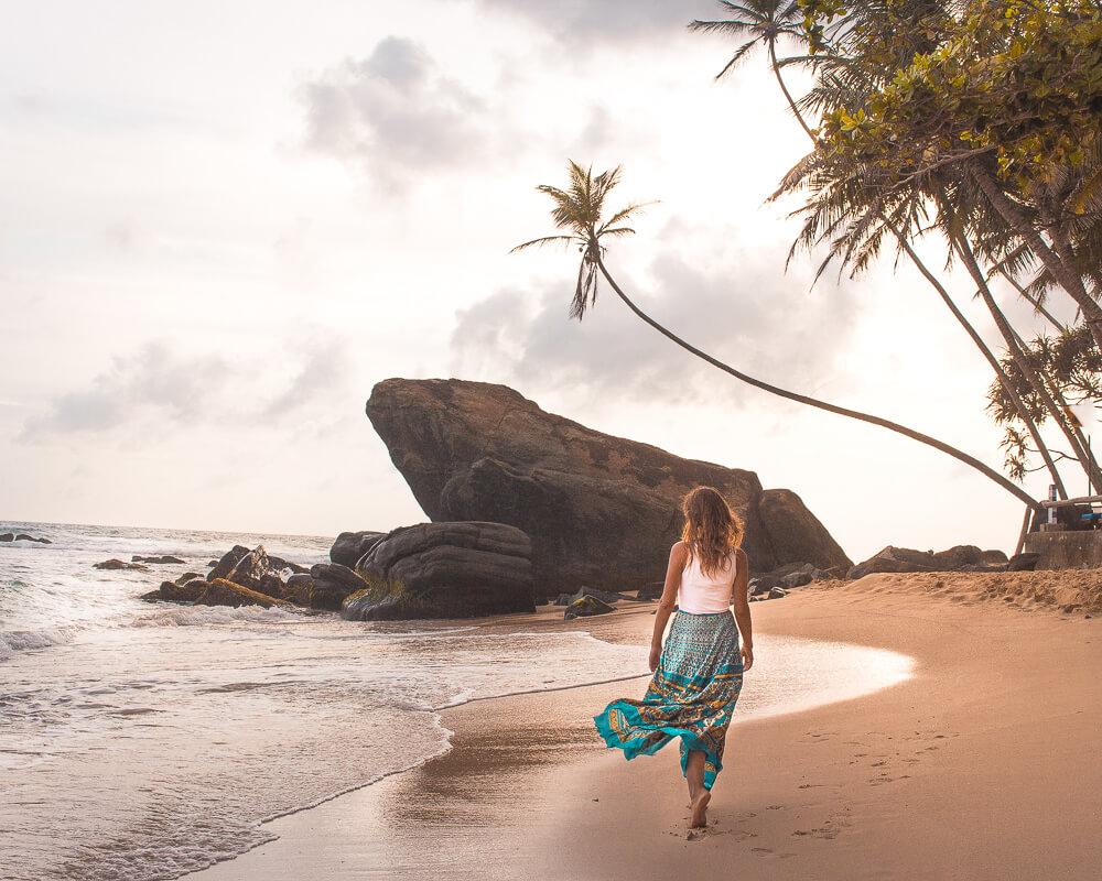 Los mejores Instagram spots en Sri Lanka playa