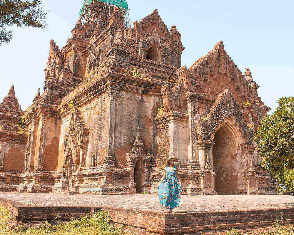 Viajar a Myanmar Bagan