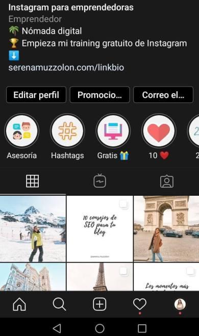 Cómo activar el modo oscuro en Instagram paso a paso