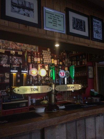 History and adventure flow through the South Pole Inn on the Dingle Peninsula, founded by Antarctic explorer Tom Crean.