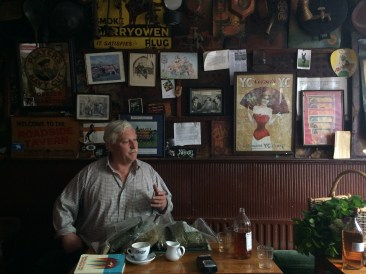 Over coffee at the Roadside Tavern in Lisdoonvarna, the pub's owner Peter Curtin philosophizes about the local herbs he'll feature in his upcoming round of grut beers.