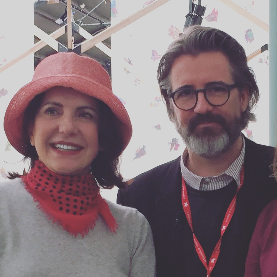 Serena Ucelli com Olafur Eliasson