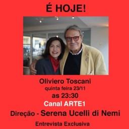 É Hoje! – Oliviero Toscani