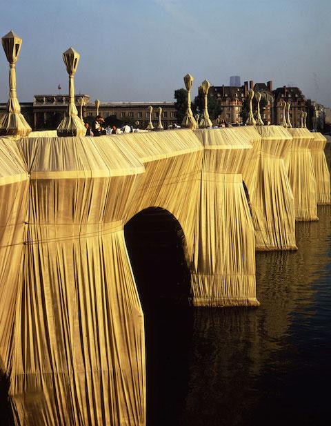 Pont Neuf_Paris_ Christo_Serena Ucelli