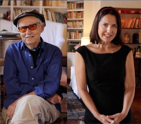 Vittorio Taviani e Serena Ucelli