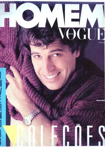 1984 Capa Homem Vogue