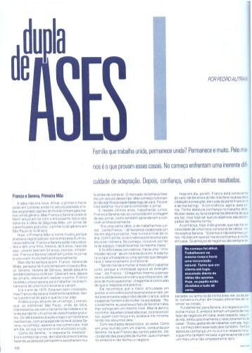 1984 Materia Homem Vogue