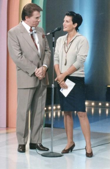 1990 Serena e Silvio Santos