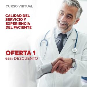 OFERTA 1: Taller Calidad del Servicio y Experiencia del Paciente  (65% DESCUENTO)