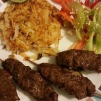 Mediterranean Style Beef Kabobs