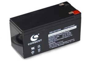 CONSENT SEALED LEAD ACID RECHARGEABLE BATTERY 12V 7.2AH