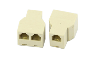 TELEPHONE CONECTOR IN ONE & OUT 2 WAYS