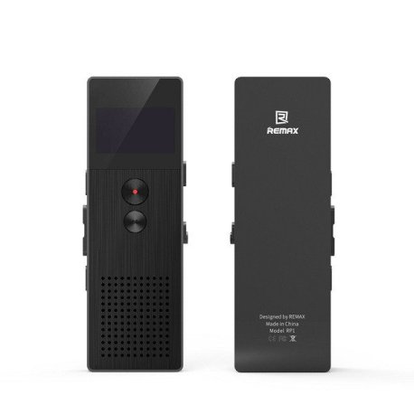 REMAX Professional Audio Voice Recorder Sri Lanka for Business Portable Digital Business Voice Recorder Support Telephone Recording MP3 Player
