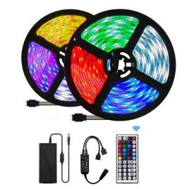 5m Waterproof LED RGB Strip Light Sri Lanka RF Remote Lights Adapter Tape Flexible Ribbon Lamp Led Strip Party Home