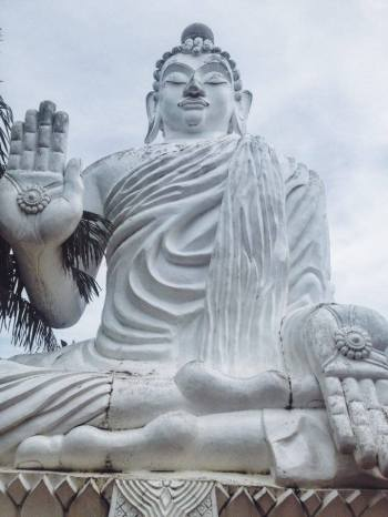 the white buddha