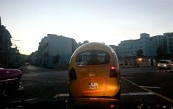 La Habana, Malecon cocotaxi 2014
