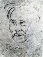 Wifredo Lam, portrait de Lam Yam, droits réservés